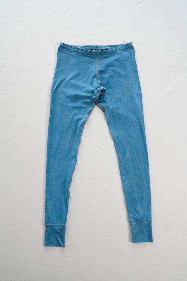 enishii|レギンス| ヘンプコットン|本藍染め|無地|淡色|サイズXS