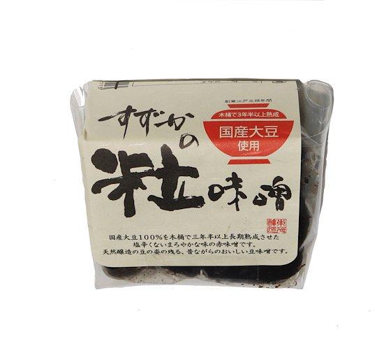 すずかの粒味噌 | 無濾過豆味噌 | 伊勢街道三百年蔵 | 350g