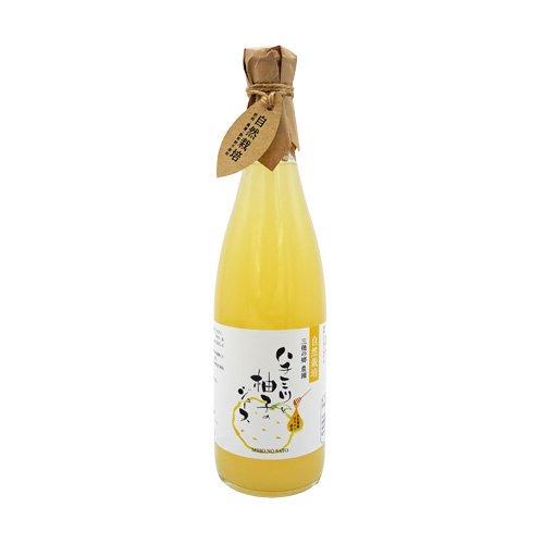 【6本限定 5%OFF】ハチミツと柚子のジュース|720ml|保存料無添加|自然栽培|三穂の郷農園