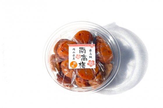 B級 自然栽培 梅干し|18%|250g|添加物不使用|南高梅|三穂の郷農園