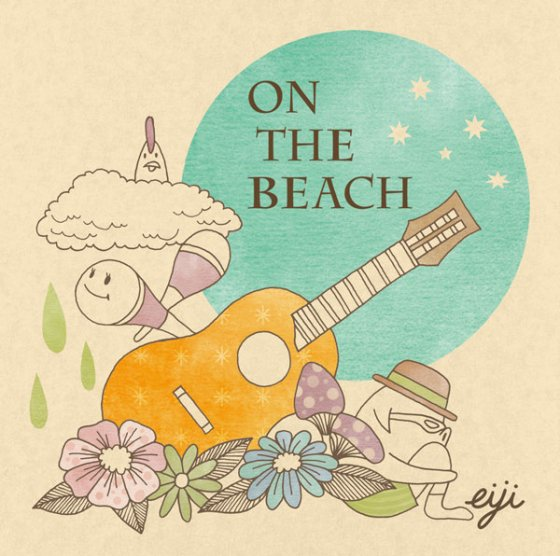 『ON THE BEACH』eiji|1st album [CD]