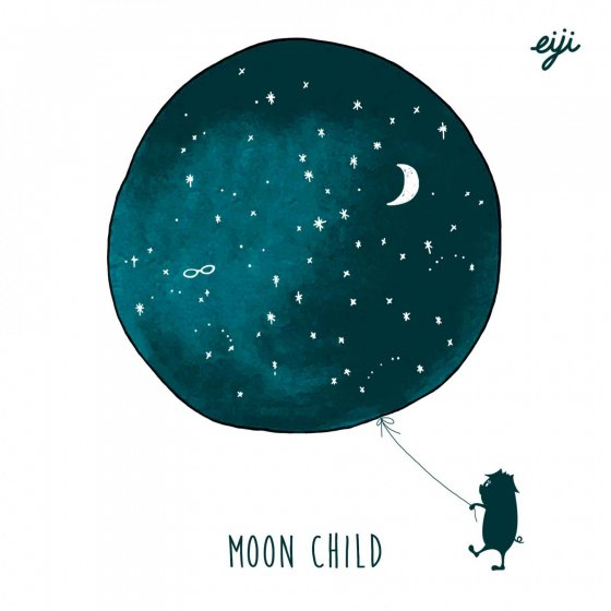 『MOON CHILD』eiji|4th album [CD]