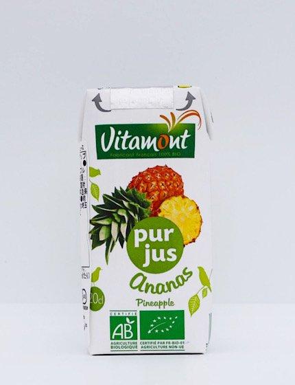 ヴィタモント 有機パイナップルジュース|200ml|アリサン