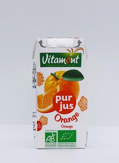 ヴィタモント 有機オレンジジュース|200ml|アリサン