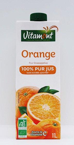 ヴィタモント 有機オレンジジュース|1Lサイズ|アリサン