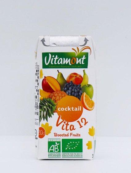 ヴィタモント 有機ミックスジュース|200ml|アリサン