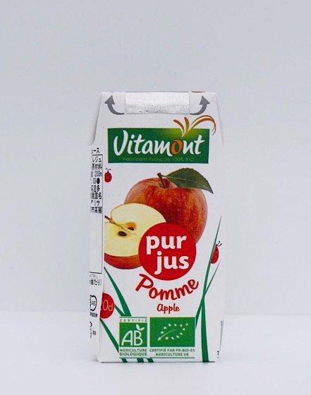 ヴィタモント 有機アップルジュース|200ml|アリサン