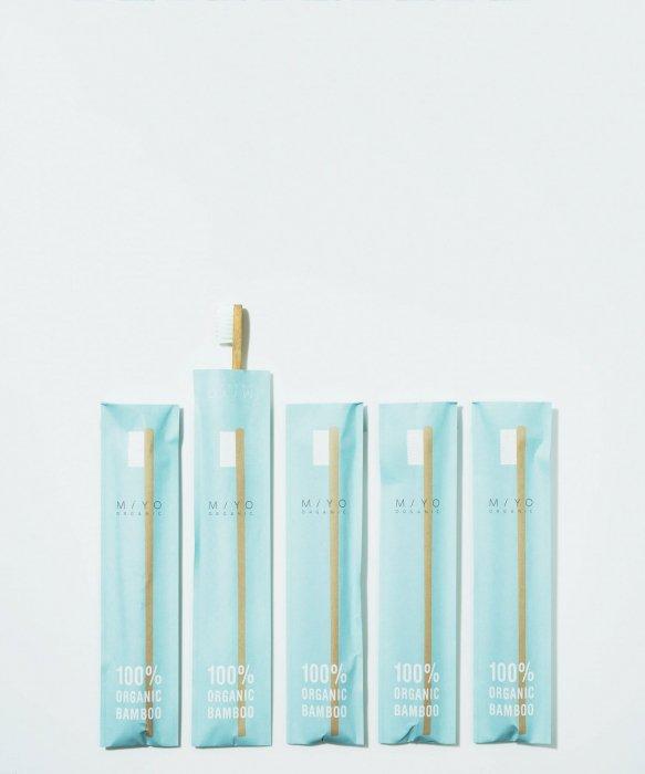 竹歯ブラシ(一本)|MiYO-organic-