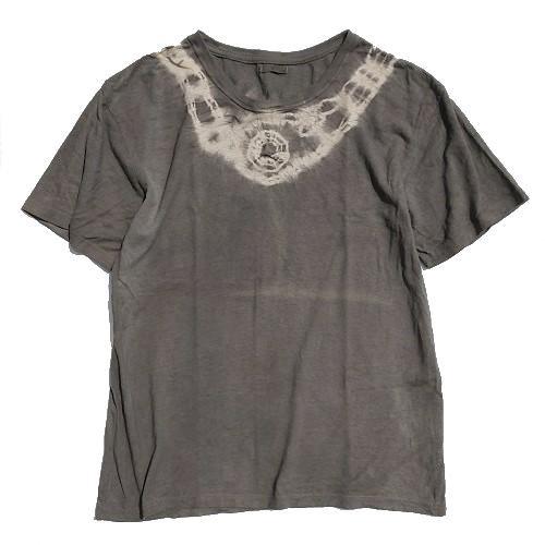 三宅商店オリジナル|Tシャツ|XLサイズ|ヘンプコットン|フクギ染め|「か」