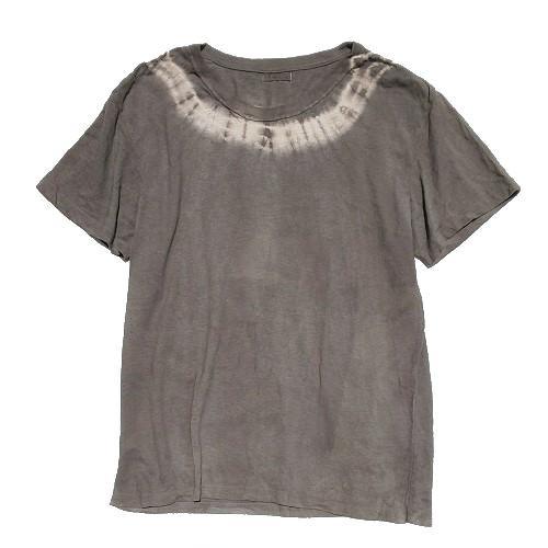 三宅商店オリジナル|Tシャツ|Lサイズ|ヘンプコットン|フクギ染め|「な」