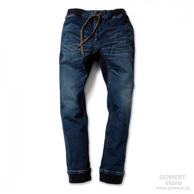 GO HEMP|SLIM RIB PANTS|Used Wash