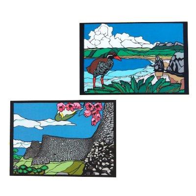 切り絵のジョナサン謹製 ポストカード