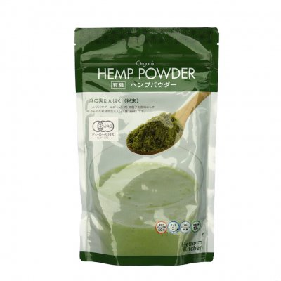 Organic HEMP POWDER|180g|カナダ産