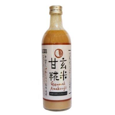 イセヒカリ玄米使用「玄米甘糀」|490ml|石川県白山市産