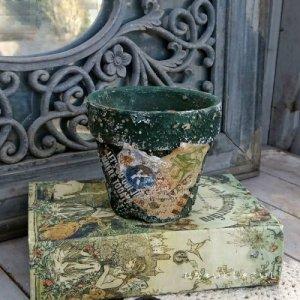 オリジナルペイント鉢30-004