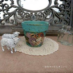 オリジナルペイント鉢35-001