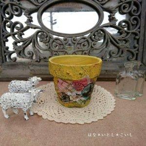 オリジナルペイント鉢35-005