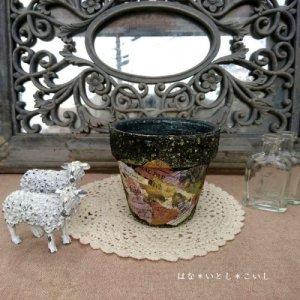 オリジナルペイント鉢35-006