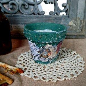 オリジナルペイント鉢25-0010