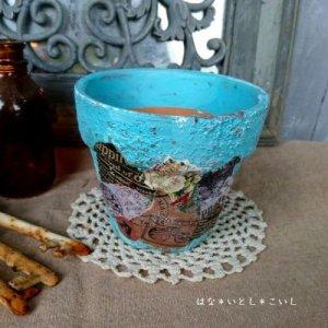 オリジナルペイント鉢35-012