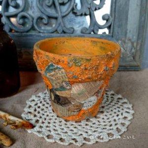オリジナルペイント鉢30-012