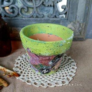 オリジナルペイント鉢30-015