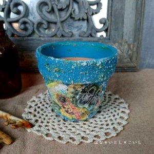 オリジナルペイント鉢30-016