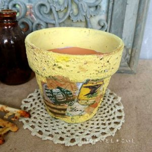 オリジナルペイント鉢35-013