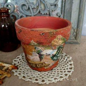 オリジナルペイント鉢35-014