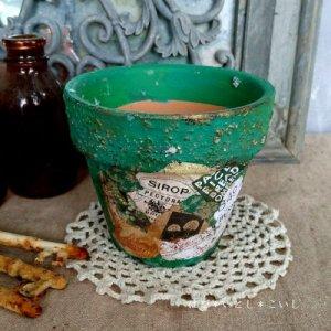オリジナルペイント鉢35-016