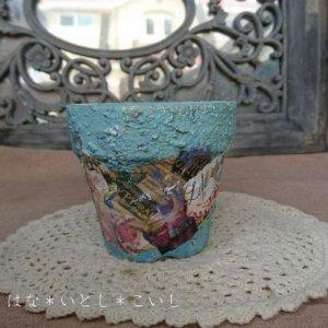 オリジナルペイント鉢30-023
