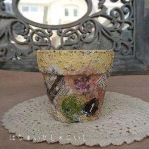 オリジナルペイント鉢30-024