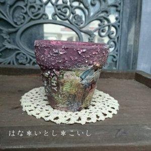 オリジナルペイント鉢30-028