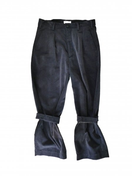 <img class='new_mark_img1' src='//img.shop-pro.jp/img/new/icons20.gif' style='border:none;display:inline;margin:0px;padding:0px;width:auto;' />corduroy band pants(NAVY)