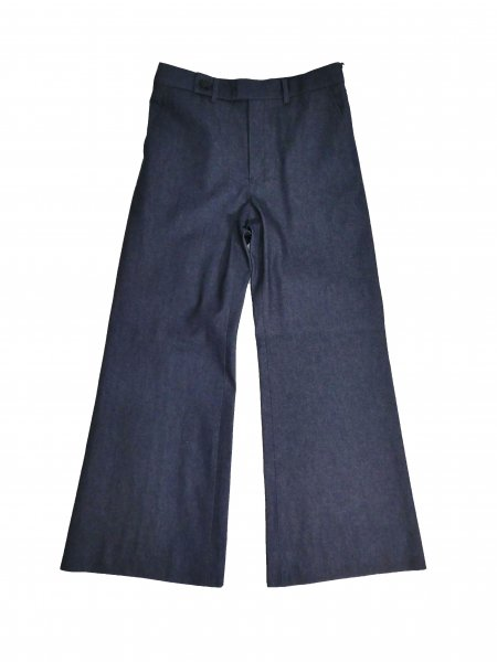<img class='new_mark_img1' src='//img.shop-pro.jp/img/new/icons20.gif' style='border:none;display:inline;margin:0px;padding:0px;width:auto;' />Flare Denim Trousers(INDIGO)