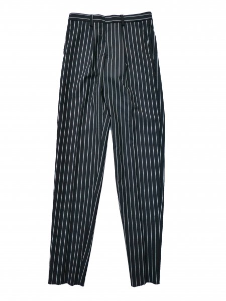 <img class='new_mark_img1' src='//img.shop-pro.jp/img/new/icons2.gif' style='border:none;display:inline;margin:0px;padding:0px;width:auto;' />Stripe Tapered Trousers(BLACK)