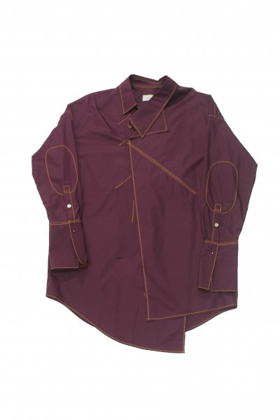 <img class='new_mark_img1' src='//img.shop-pro.jp/img/new/icons2.gif' style='border:none;display:inline;margin:0px;padding:0px;width:auto;' />Pullover shirt(BURGUNDY)