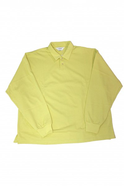 <img class='new_mark_img1' src='https://img.shop-pro.jp/img/new/icons20.gif' style='border:none;display:inline;margin:0px;padding:0px;width:auto;' />Long Sleeve Polo(YELLOW)