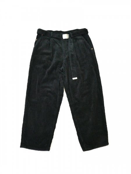 <img class='new_mark_img1' src='//img.shop-pro.jp/img/new/icons2.gif' style='border:none;display:inline;margin:0px;padding:0px;width:auto;' />CORDUROY OVERSIZED TROUSER(BLK)