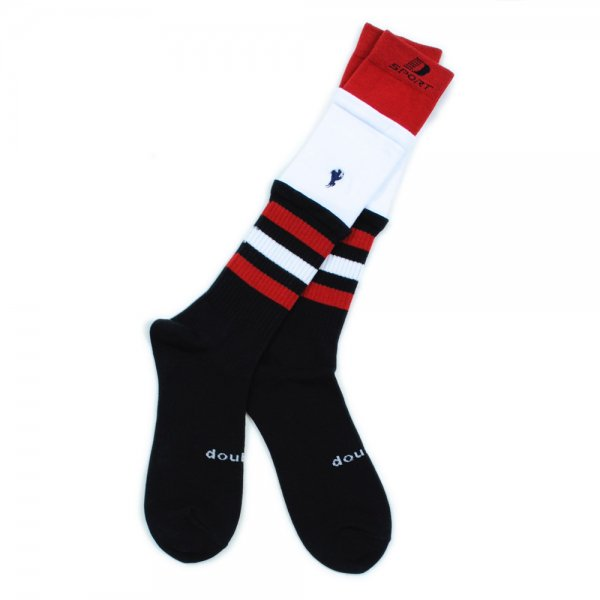 <img class='new_mark_img1' src='//img.shop-pro.jp/img/new/icons2.gif' style='border:none;display:inline;margin:0px;padding:0px;width:auto;' />3LAYERD BORDER SOCKS(BLACK)