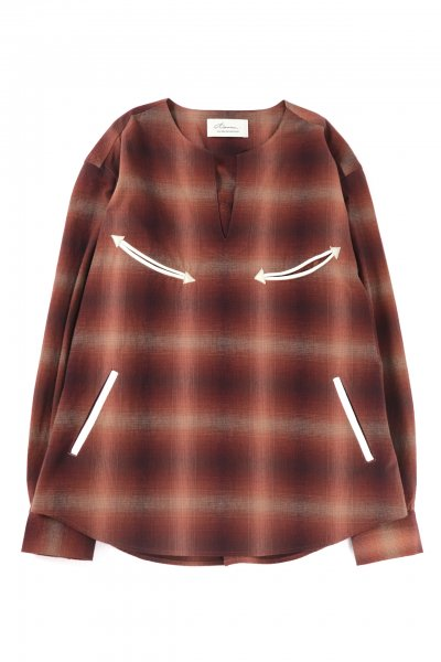 <img class='new_mark_img1' src='https://img.shop-pro.jp/img/new/icons20.gif' style='border:none;display:inline;margin:0px;padding:0px;width:auto;' />PULLOVER WESTERN SHIRT