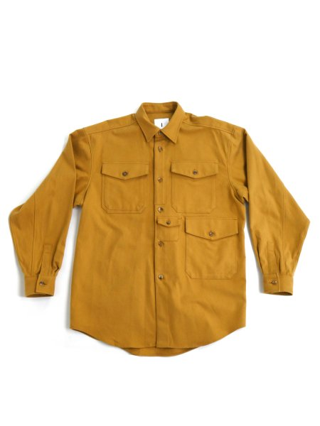 <img class='new_mark_img1' src='https://img.shop-pro.jp/img/new/icons2.gif' style='border:none;display:inline;margin:0px;padding:0px;width:auto;' />CLUSTER SHIRTS (MUSTARD)