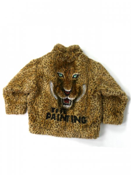 <img class='new_mark_img1' src='//img.shop-pro.jp/img/new/icons2.gif' style='border:none;display:inline;margin:0px;padding:0px;width:auto;' />ANIMAL HAND PAINTED FUR JACKET