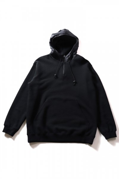 <img class='new_mark_img1' src='https://img.shop-pro.jp/img/new/icons20.gif' style='border:none;display:inline;margin:0px;padding:0px;width:auto;' />SHELL HOODED SWEAT(BLACK)