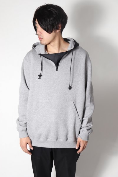 <img class='new_mark_img1' src='https://img.shop-pro.jp/img/new/icons2.gif' style='border:none;display:inline;margin:0px;padding:0px;width:auto;' />SHELL HOODED SWEAT(GRAY)