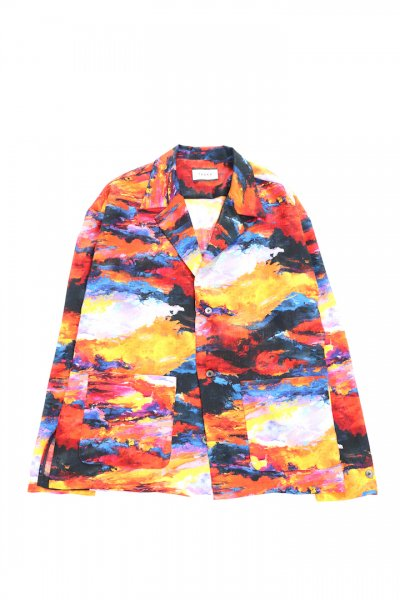 <img class='new_mark_img1' src='https://img.shop-pro.jp/img/new/icons2.gif' style='border:none;display:inline;margin:0px;padding:0px;width:auto;' />EVENING CAMOUFLAGE SHIRTS-JACKET