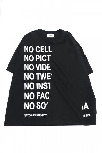 <img class='new_mark_img1' src='https://img.shop-pro.jp/img/new/icons2.gif' style='border:none;display:inline;margin:0px;padding:0px;width:auto;' />RIPPED OFF T-SHIRTS MONO PRINT(BLACK/WHITE)