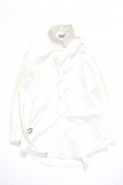 <img class='new_mark_img1' src='https://img.shop-pro.jp/img/new/icons2.gif' style='border:none;display:inline;margin:0px;padding:0px;width:auto;' />Button-Down shirt(WHITE)
