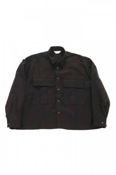 <img class='new_mark_img1' src='https://img.shop-pro.jp/img/new/icons2.gif' style='border:none;display:inline;margin:0px;padding:0px;width:auto;' />MILITARY SHIRT (BLACK)