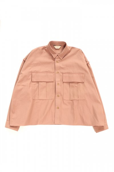 <img class='new_mark_img1' src='https://img.shop-pro.jp/img/new/icons2.gif' style='border:none;display:inline;margin:0px;padding:0px;width:auto;' />MILITARY SHIRT (PINK)
